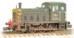 371-063 Farish Class 03 D2383 BR Green Wasp Stripes Weathered